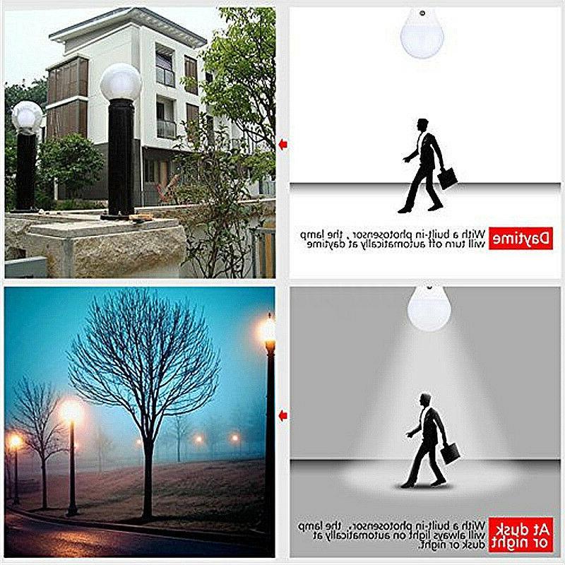 E27/B22 12W Dawn Lamp Auto Light Sensor Saver AC110-220V