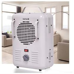 Costway Electric Portable Utility Space Heater Thermostat Ro