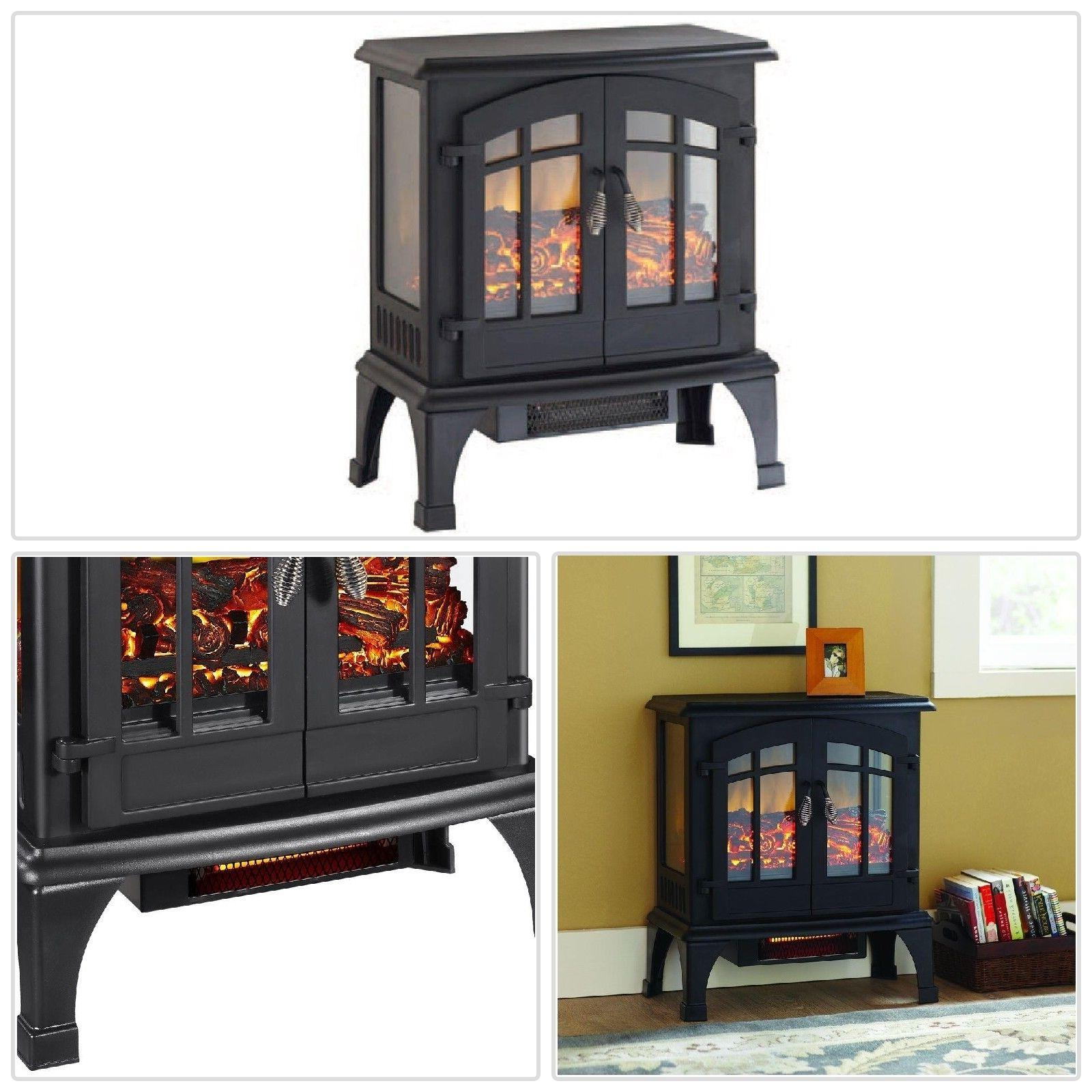 Electric Stove Heater Panoramic Infrared Freestanding