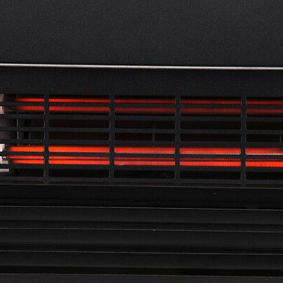 Della© 1500w Embedded Electric Heater View Adjustable Log w/