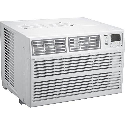 Whirlpool Energy BTU 115V Window-Mounted Air Conditioner with Remote White