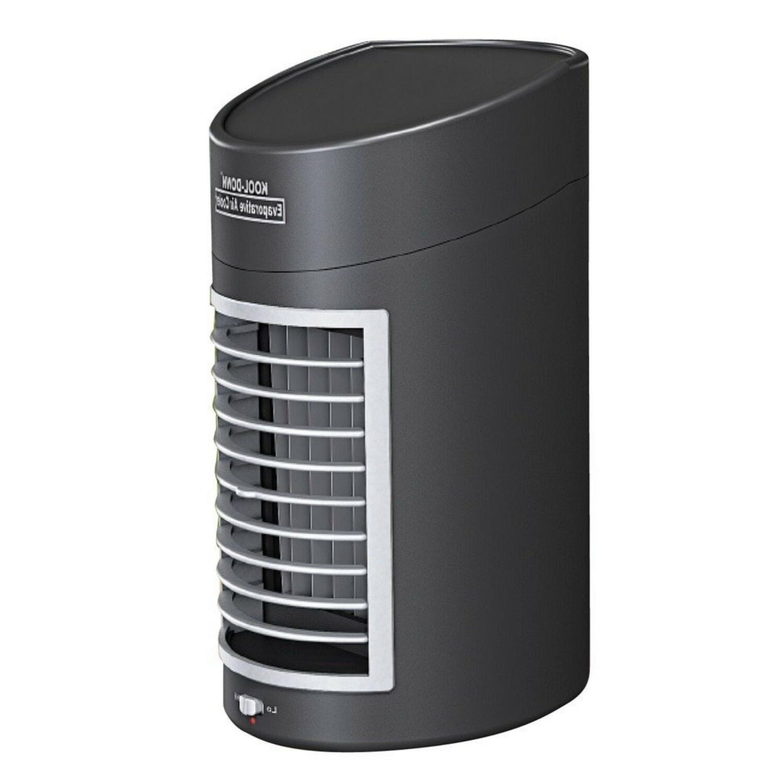 evaporative fan cooler portable desk