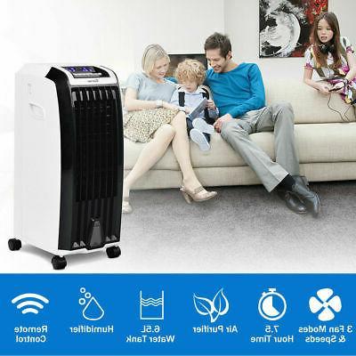 Evaporative Air Cooler Fan Anion Humidify W/