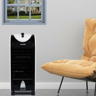Evaporative Portable Conditioner Cooler Fan Humidify W/Filter Knob