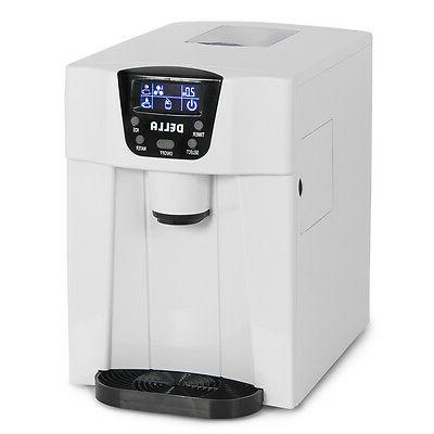 Della© Water Dispenser with Built-In Ice 2-Size White