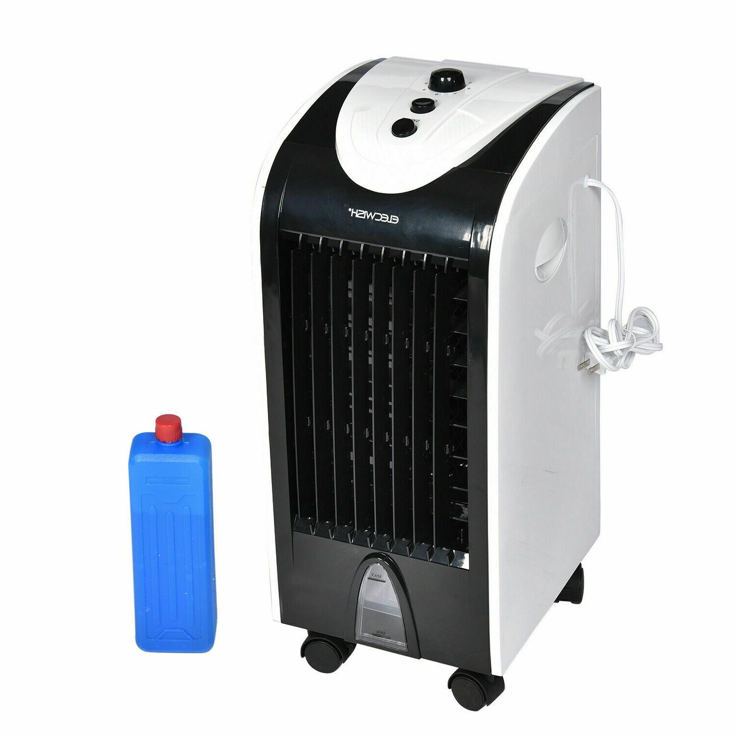 Portable Conditioner Cooling Fan Humidifier Home