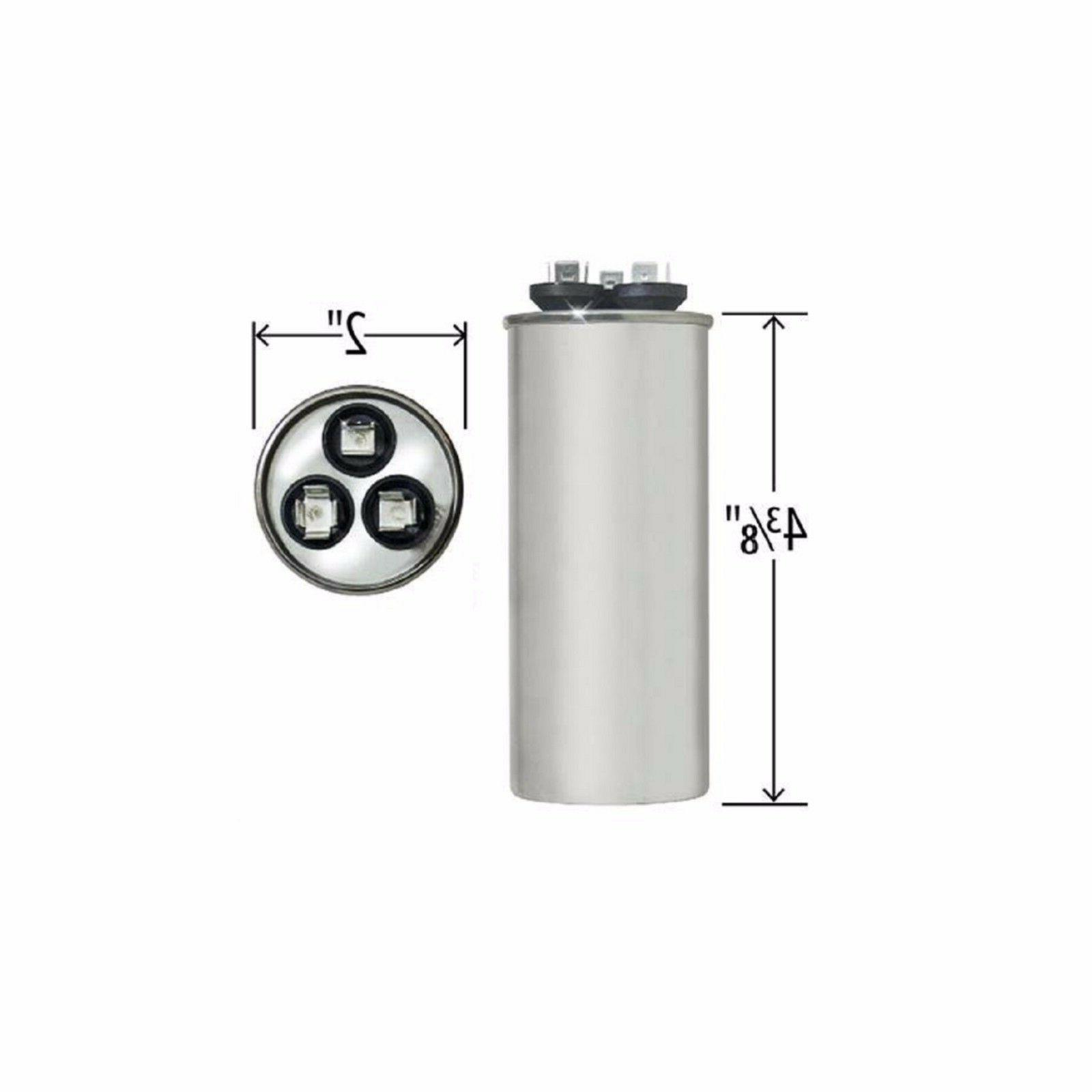 Ge Dual Run Capacitor 40 5 Uf Mfd 440v