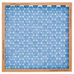 Heavy-Duty Spun Glass Fiberglass Furnace Filter - Pack of 12