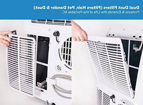 Honeywell 10, 000 White Portable Air Conditioner