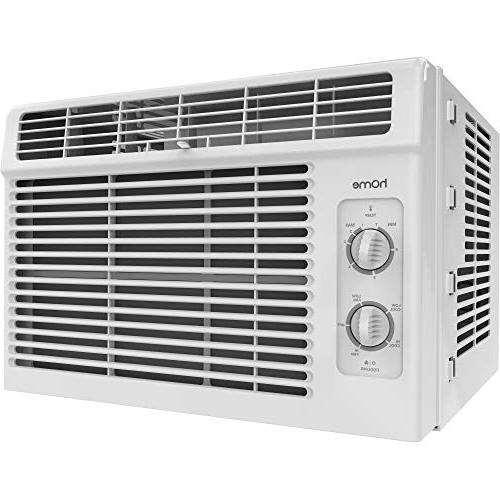 home 5000 btu window mounted air conditioner compact 7 speed
