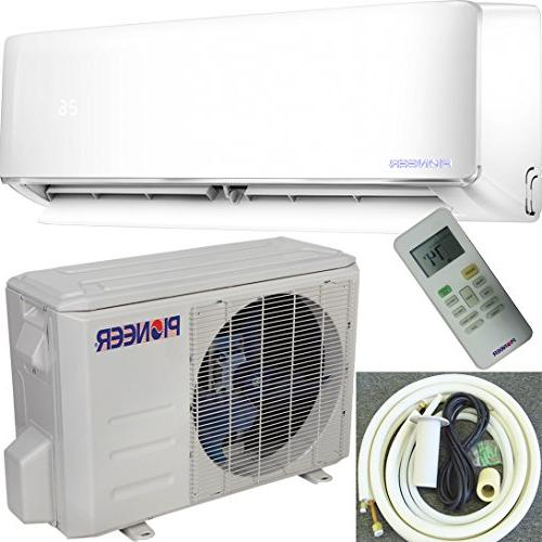 Pioneer WYS012-17 Air Inverter+ Ductless Wall Mini Conditioner Heat Full 115V