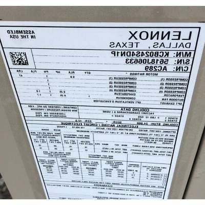 "LENNOX KCB024S4DN1P 2 ""LANDMARK"" AIR CONDITIONER, 14"