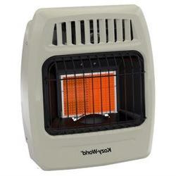 Kozy World 12,000 BTU Infrared Natural Gas Wall Heater
