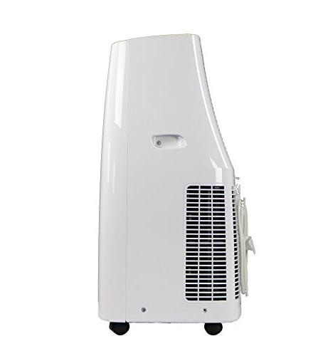"""Keystone KSTAP10NA 115V Portable Air Conditioner with Me"""" Rooms up to Ft."""