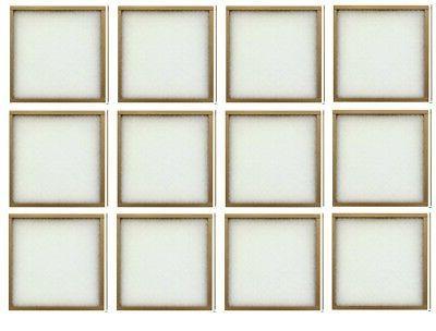 15x20x1, Percisionaire Ez Flow Ii Front Panel Merv 4, 10055.