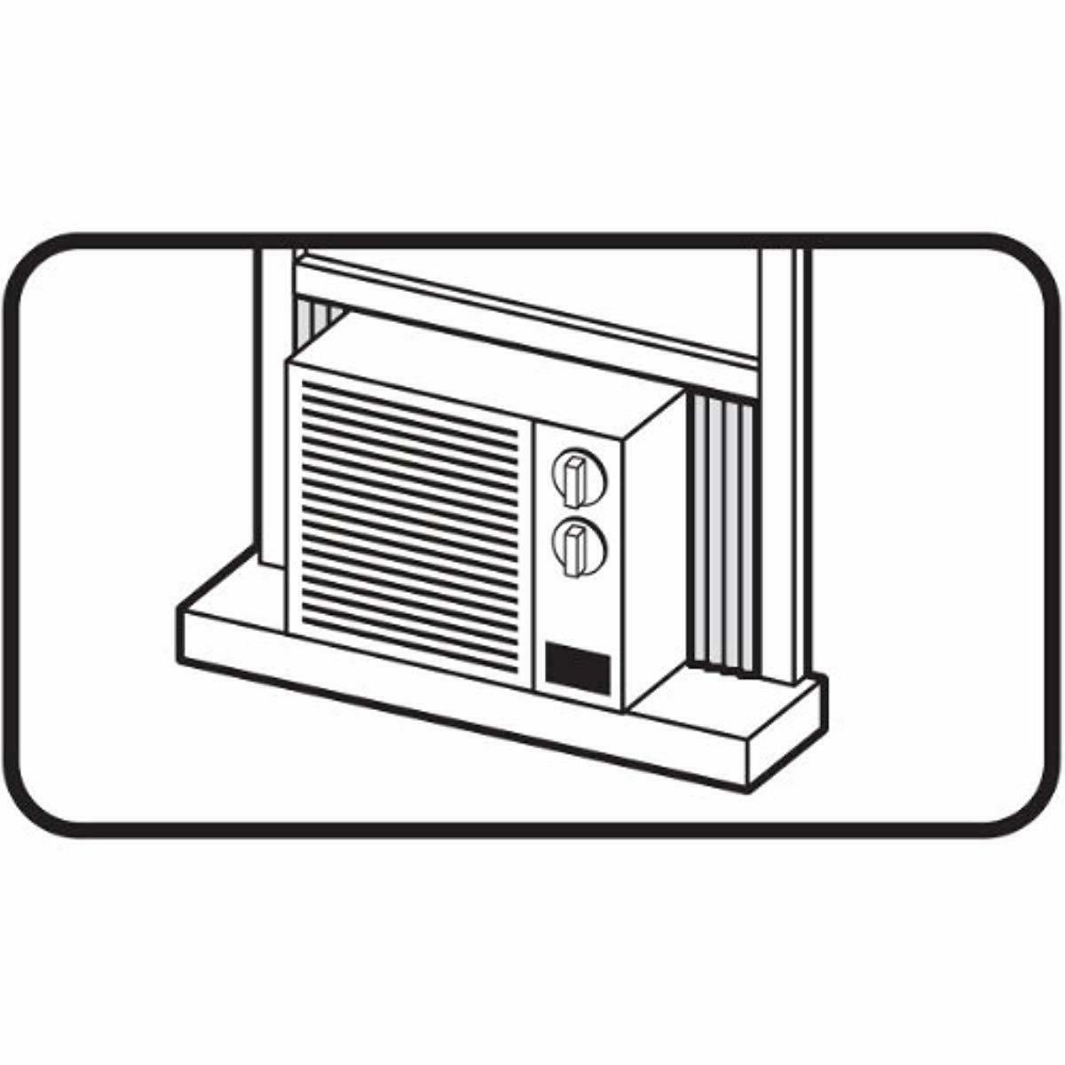 M-D Building 8308 Air Side Panel Kit,