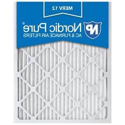 14x25x1 MERV 12 AC Furnace Filters Qty 6