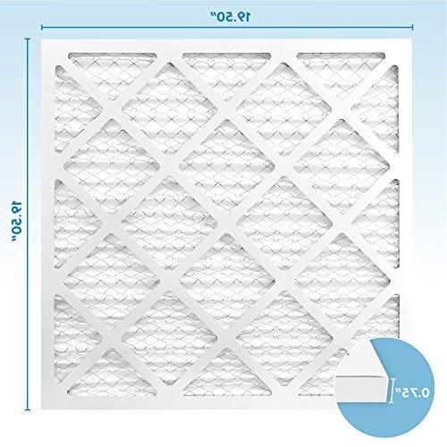 20x20x1 Air 20 x x - Premium Conditioner and - Blocks Pet Dander, Lint, - Universal Compatibility MervFilters