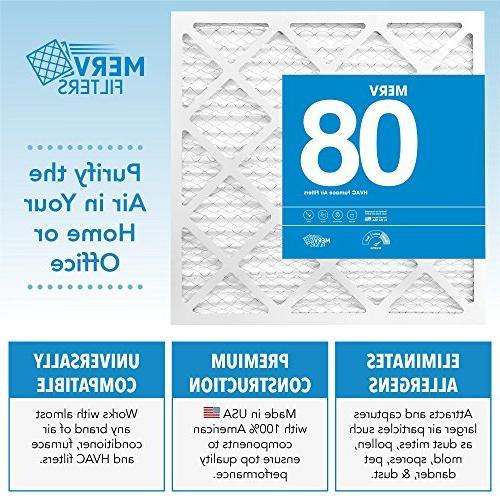 Air Filters - Premium Furnace, Conditioner - Pet Lint, - MervFilters