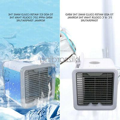 Mini Air Portable Space Fan Humidifier