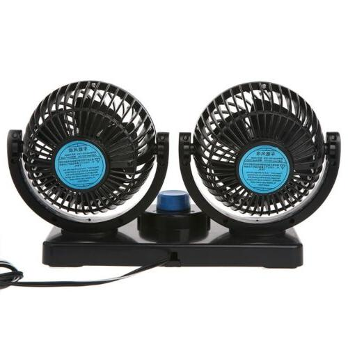 Mini Electric Car Air Cooling Conditioner 360 Degree 24V