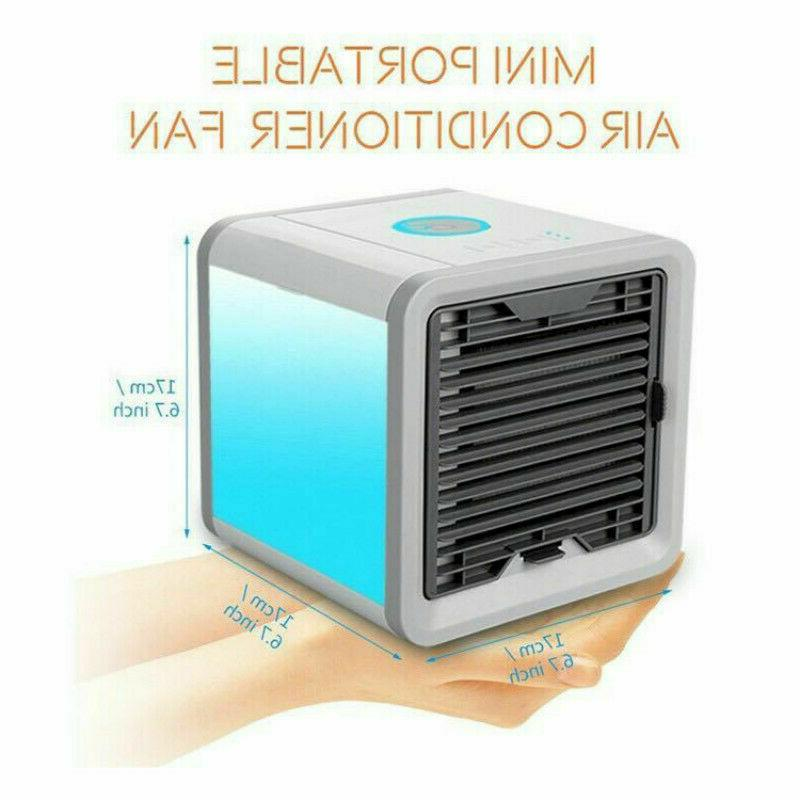 Mini Portable Air Conditioner Fan Humidifier Purifier