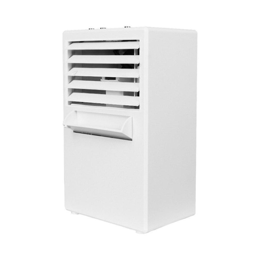 Mini Table Desk Office Fan Humidifier Quiet Personal Cooler fan