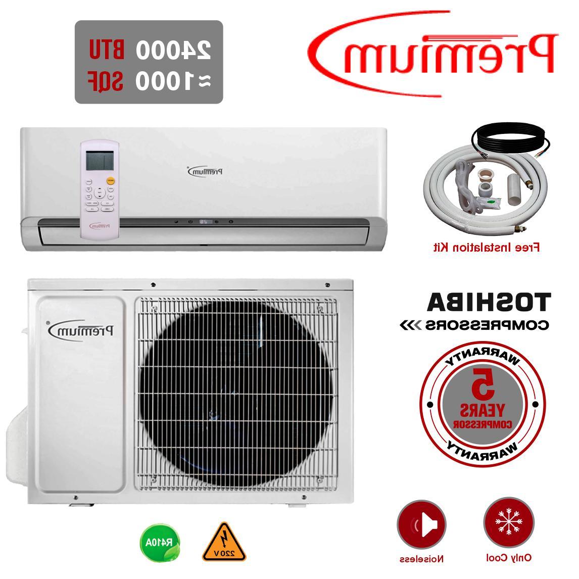 mini split 24000 btu system ductless ac