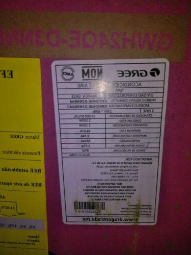 GREE SPLIT AIR CONDITIONERS,WI-FI,24000 YERS