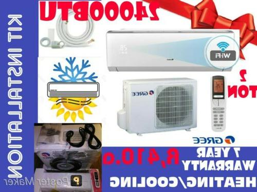 mini split air conditioners wi fi 24000