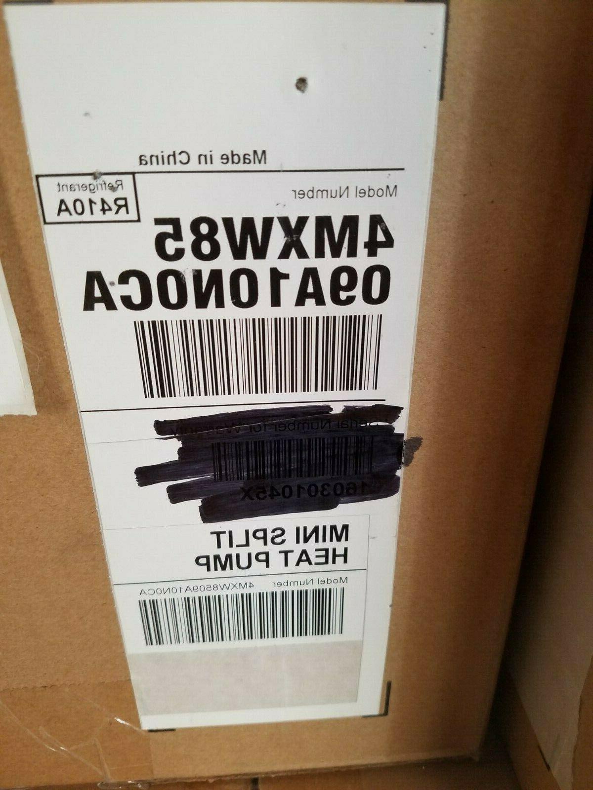 TRANE HEAT 4MXW8509A BTU