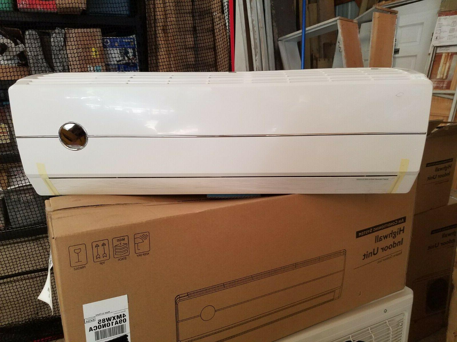 mini split high wall indoor air conditioner