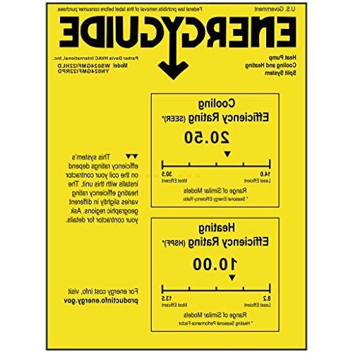 PIONEER Air Conditioner Heatpump, BTU-208/230