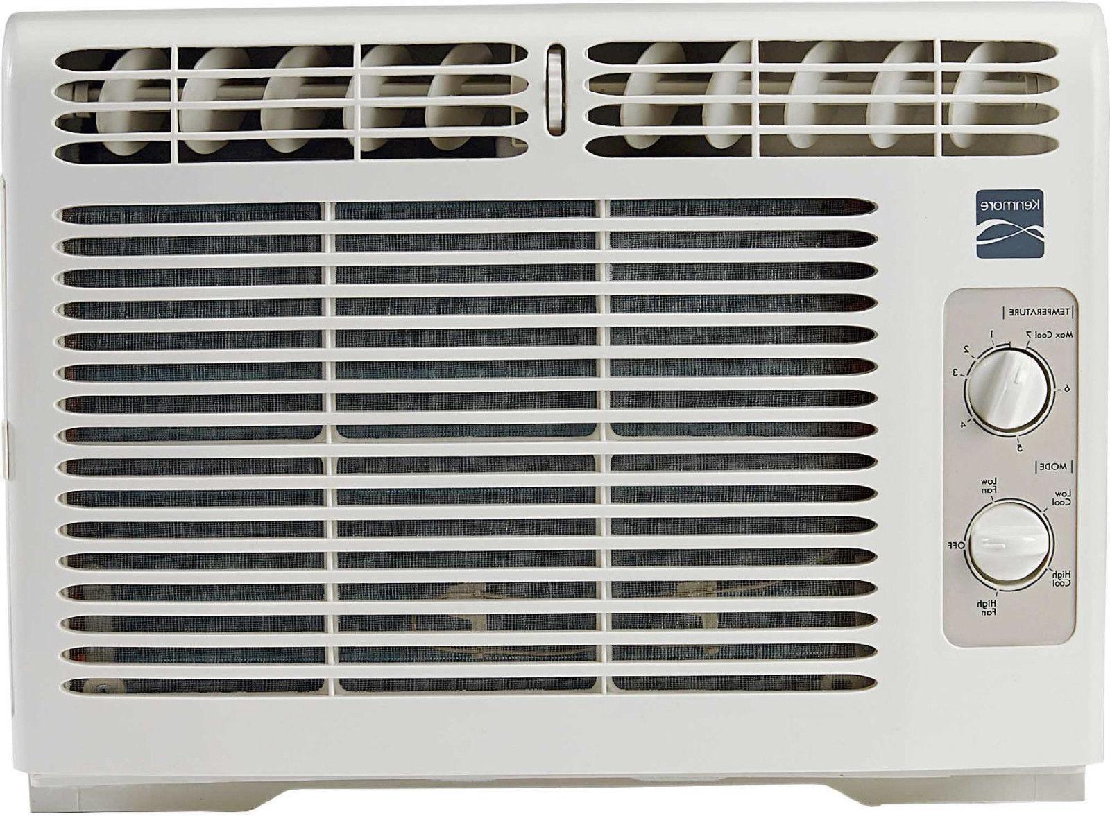 new 5000 btu window air conditioner cool