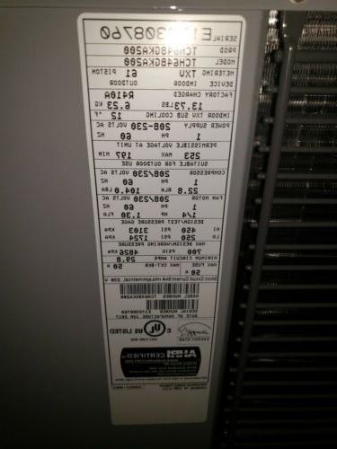 NEW Tempstar Ton 16 Heat Pump TCH6