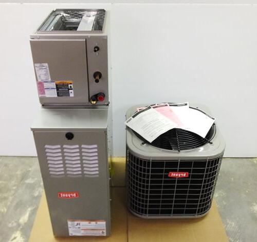 new split system gas furnace a c