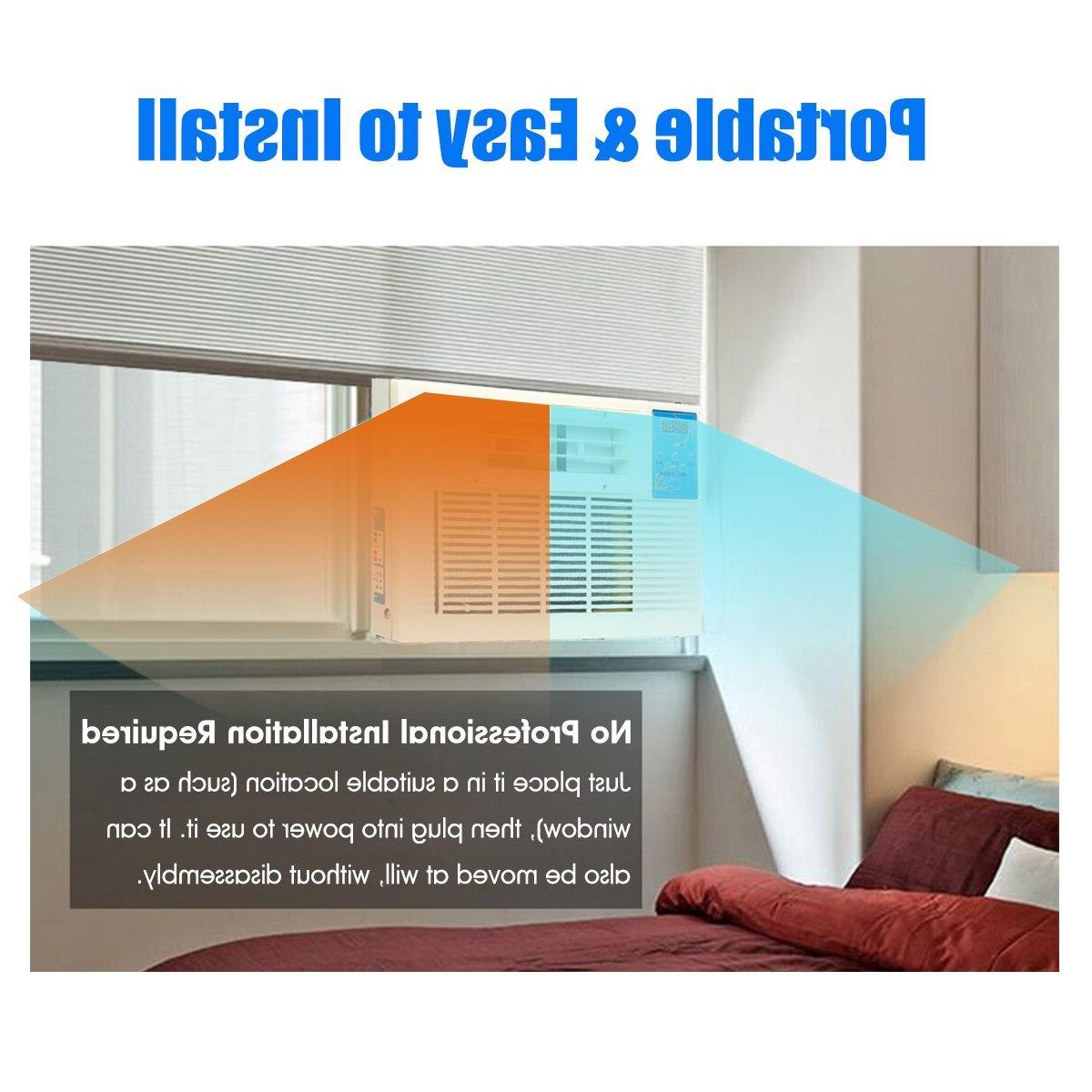 Newest 3072 BTU Portable <font><b>Heater</b></font> <font><b>Air</b></font> Window <font><b>Air</b></font> Heating Cold/Heat 220V