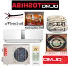 OLMO-TOSHIBA12K btu Ductless15 Seer Mini Split  Heat Pump 11