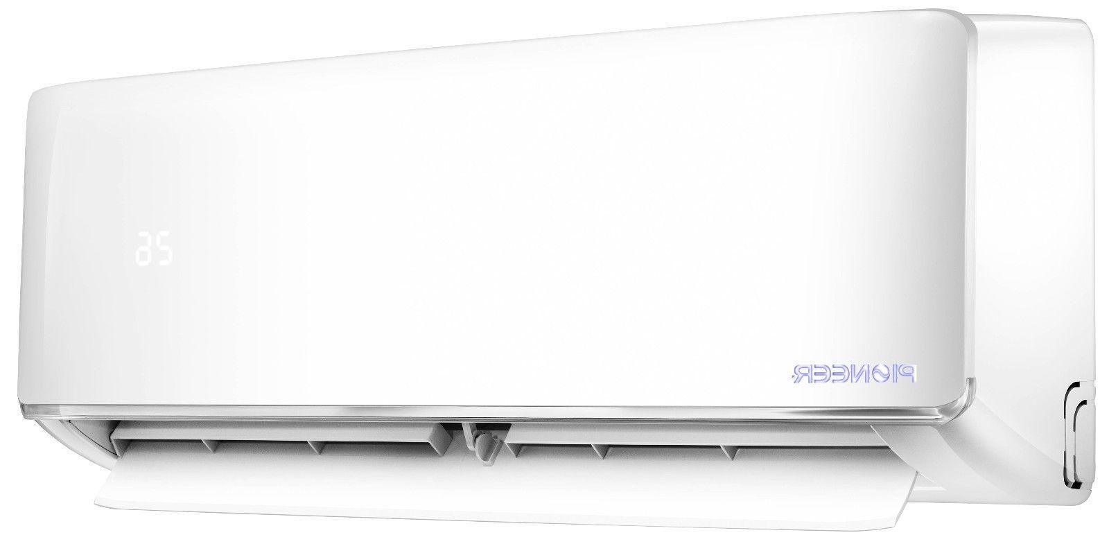 PIONEER 12000 17.5 SEER Inverter+ Ductless Mini Split Heat Set 230V