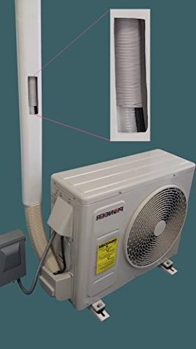 pioneer air PVC Cover for Mini Split Air Conditioners and Heat Pumps -