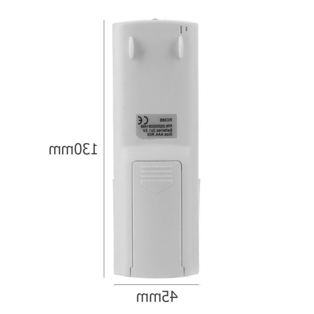 Plastic Conditioner Control for Electra Gree RC08A/RC08B #Z