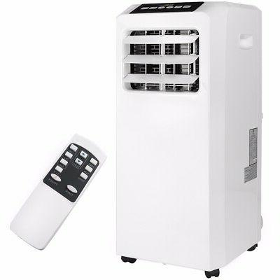 Portable 8000 BTU AC Air Conditioner Dehumidifier fan Unit w