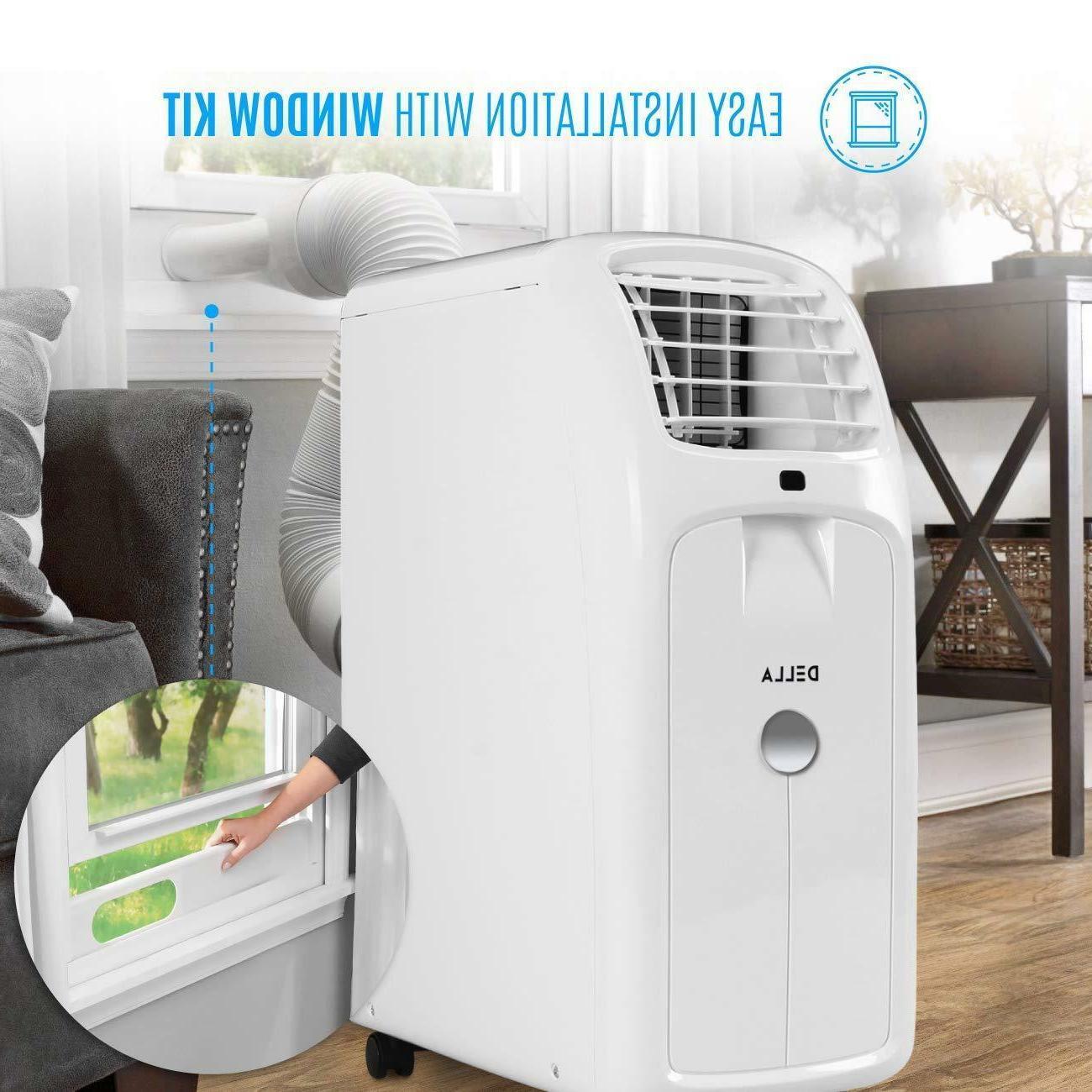 Portable AC 8000 BTU Della Air Conditioner Best Value New
