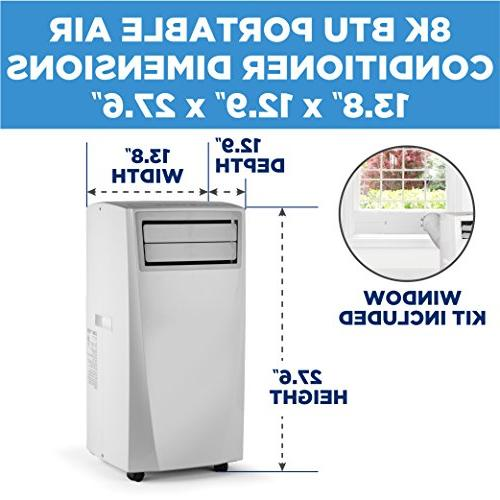 Commercial Cool Portable Air Conditioner, 8,000 BTU