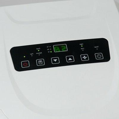 8,000 BTU Portable Air Conditioner Fan White