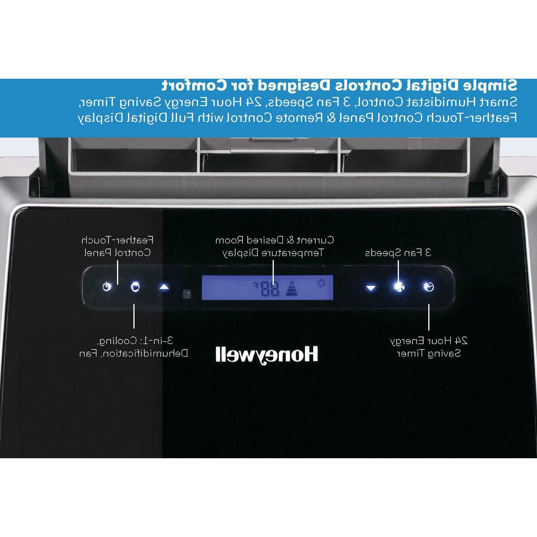 Honeywell Portable Air Dehumidifier Remote Control 14000