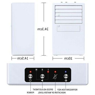 Portable Air Conditioner,Wireless Portable Mini Cooling Fan Humidifier