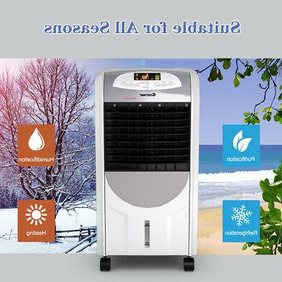 Portable Air Cooler Fan & Humidifier Washable Remote
