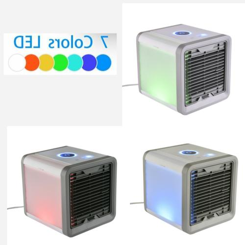 Portable Humidifier Purifier Mini Air Conditioner Cooling