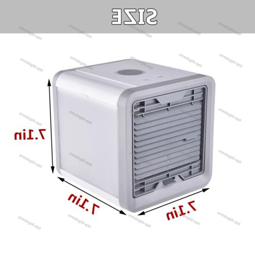 Portable Humidifier Purifier Air Conditioner Cooling Fan